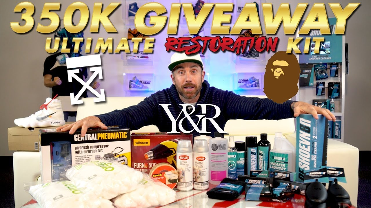Huge 350K Ultimate Restoration Giveaway Plus Off-White and Bape ... e76bc60ce