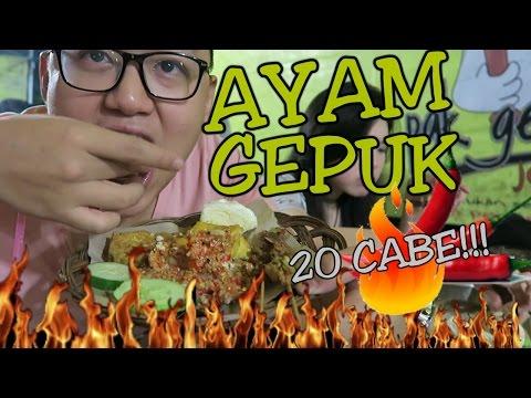 Doyan Ayam Gepuk Pak Gembus 20 CABE !!! Pedes Mantab!
