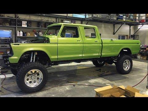 1970 Ford F250 Super Duty Cummins Crew Cab Build Project