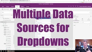 PowerApps Multiple Data Sources