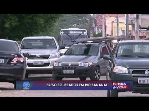 Preso estuprador em Rio Bananal