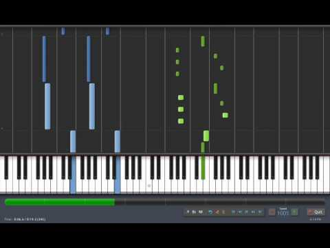Synthesia - Libera Me from Hell (Piano Sequene)