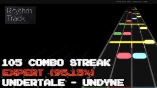 "ROBLOX - Rhythm Track - ""Undertale - Undyne"" (EXPERT 95.15%)"