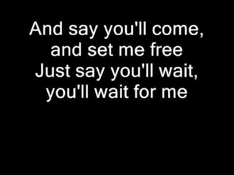Say you ll wait for me lyrics