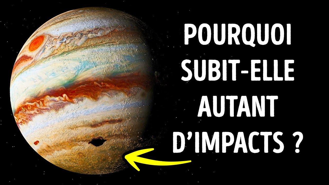 Jupiter subit plus d'impacts spatiaux que les autres planètes