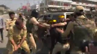 J-K: Police fires tear gas to disperse Muharram procession
