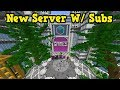 Minecraft PE - NEW SERVER w/ Subscribers