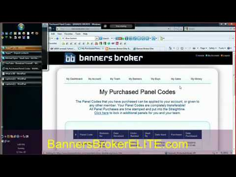 Banners Broker - proof of How I earned 500% ROI in two weeks
