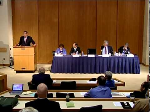 LENS Conference 2008: Combating Terrorism | Prosecuting Terrorism Cases in Our Federal Courts
