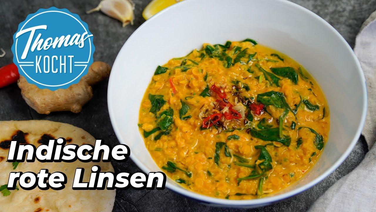Download Rotes Linsen Dal - indisches Linsengericht vegetarisch / Thomas kocht