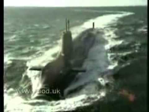 Royal Navy Test fires Trident D 5 Missile