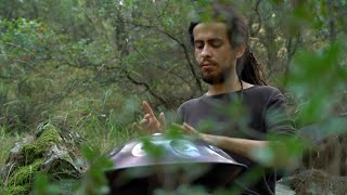 Gambar cover Doğan Karaca playing handpan in forest