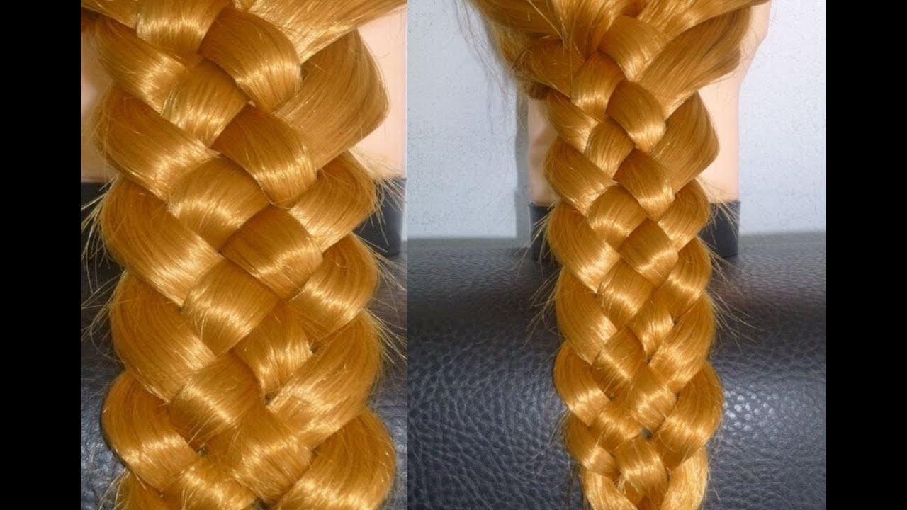 5 Strähnen Zopffrisur Flechtenschulfrisurenalltagsfrisuren5 Strand Braid Hairtrenzas Peinados
