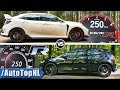 VW Golf R 2018 vs 2018 Honda Civic Type R | 0-250km/h ACCELERATION TOP SPEED & SOUND by AutoTopNL