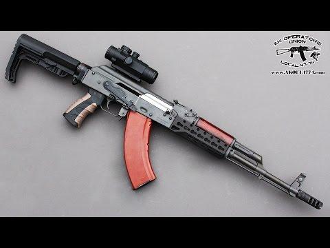 AK 47 / AK74 Keymod Rail