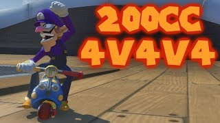 Mario Kart 8 Deluxe Competitive 200cc 4v4v4 Team Races