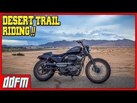Harley Sportster Trail Riding in Blaisdell Arizona - Saturday Scrambler #6