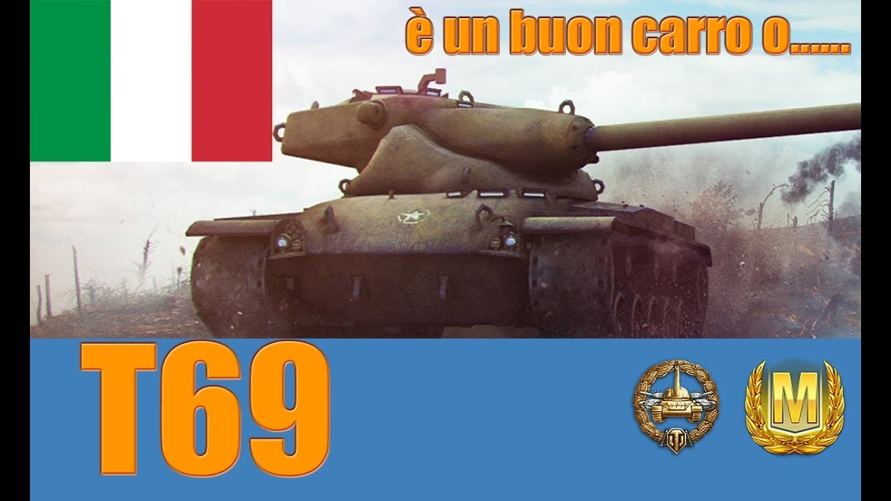 World of Tanks T69 Review ITA - YouTube
