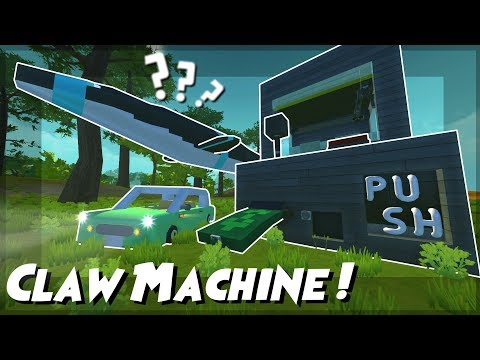 ARCADE CLAW MACHINE, FLYING MOSASAUR?!? and MORE! - Scrap Mechanic Viewer Creations!