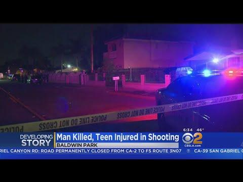 Man Killed, Teenage Boy Wounded In Baldwin Park Shooting