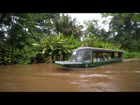 Traveling to TORTUGUERO VILLAGE Costa Rica
