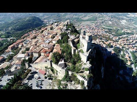San Leo & San Marino+Drone in Italy by giorgos dedes