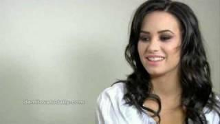 Demi Lovato Interview - Myspace Music Feed (HQ)