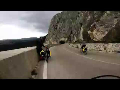 Time Lapse Cycling Omis, Croatia - Pedal and Sea Adventures