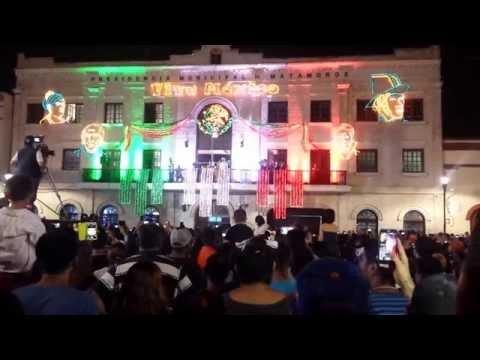 el grito de independencia matamoros tamaulipas  2015
