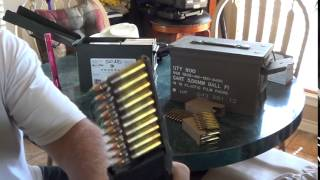 loading stripper clips of 5 56 ammo into magazines clip vs magazine