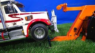 "RC ADVENTURES - Behind the Scenes Pre-Run for ""SCANiA R560 Wrecker Tow Truck, Towing Practice"" Film"