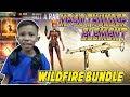 BELI-BELI MP40 THUNDER ELEMENT + BUNDLE WILDFIRE TERBARU - GARENA FREE FIRE
