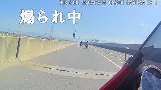 【バイクドラレコ】煽り運転に天罰 thumbnail
