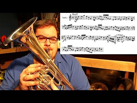 The Eb Alto/Tenor Horn & Sight Reading some random piece