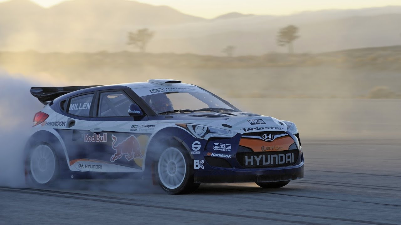 HYUNDAI Veloster Rally Car (2011) - YouTube