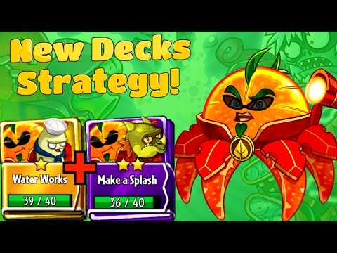 Plants vs Zombies Heroes New Citron Deck- Water Works and Make a Splash