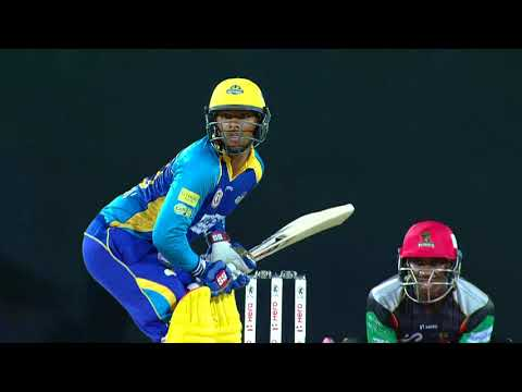 CPL17 Highlights M16: St.Kitts and Nevis Patriots v Barbados Tridents