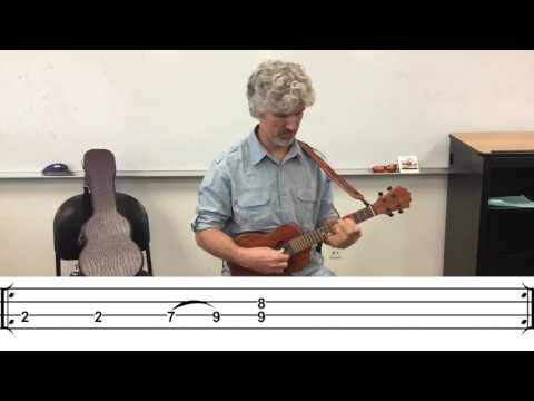 Come Together Beatles Ukulele Tutorial (with Notation)