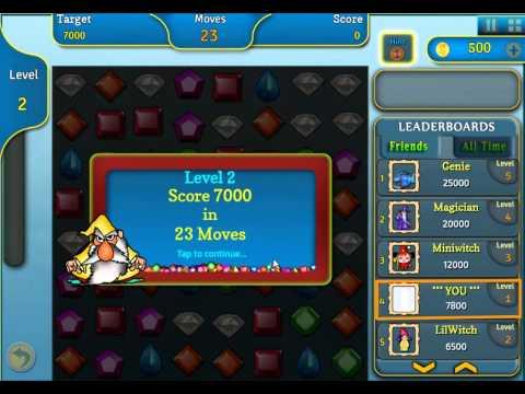 Jewel Magic - Facebook Gameplay