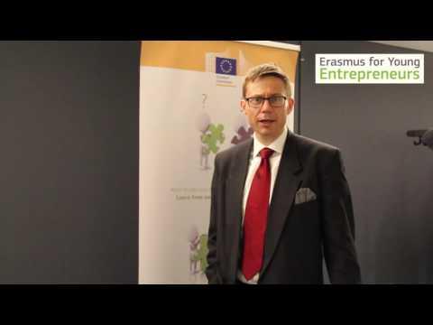 Marko Curavić (DG GROW) on Erasmus for Young Entrepreneurs