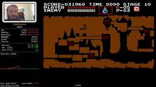 Castlevania 1 NES Speedrun (14:59 PB)