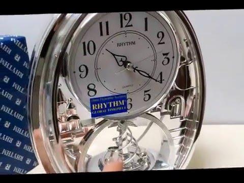 Rhythm Spiral Pendulum Mantel Clock - 4SG768WR19