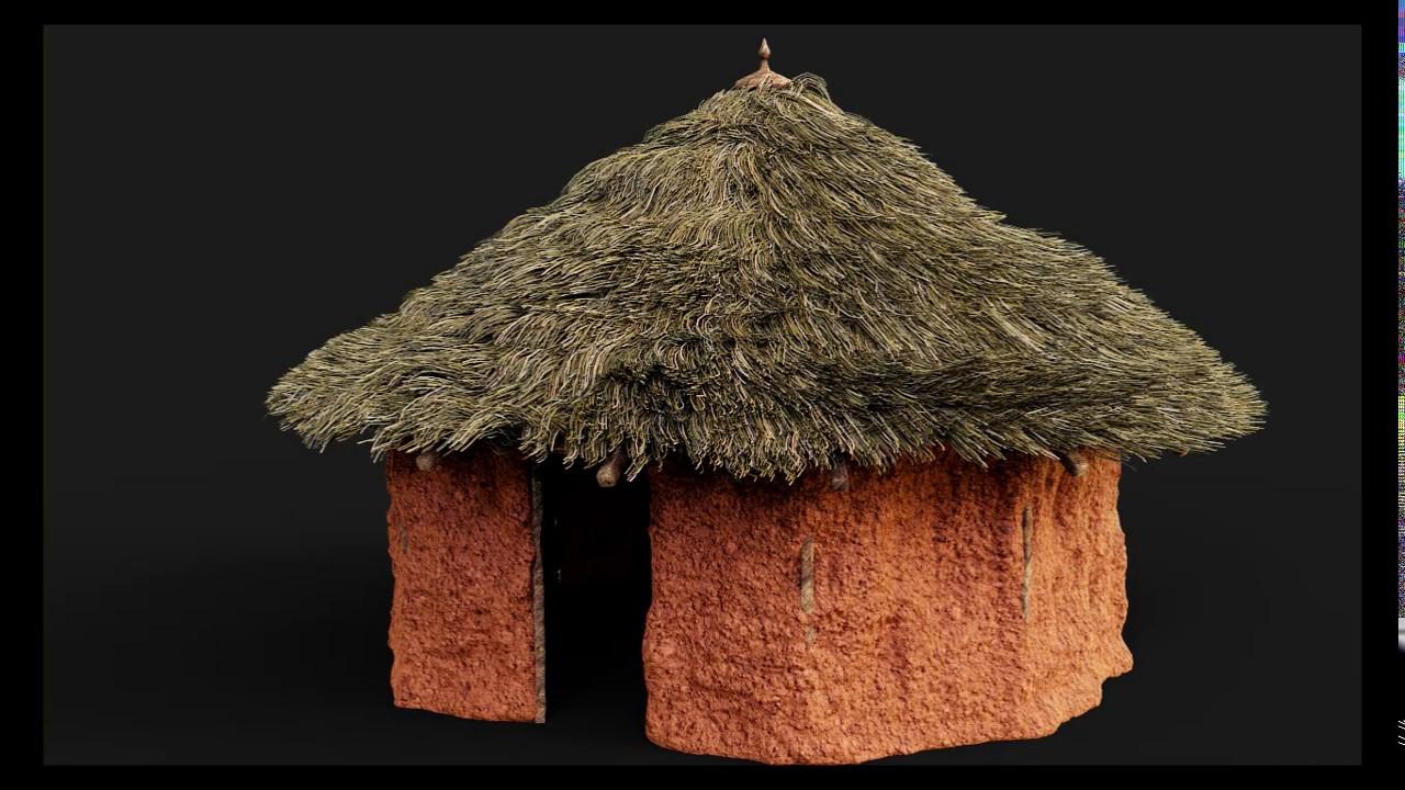 Creating An African Hut In Blender