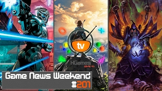 Игровые Новости — Game News Weekend #201 | (Payday 3, ME: Andromeda, Hearthstone 2017, Steam Direct)