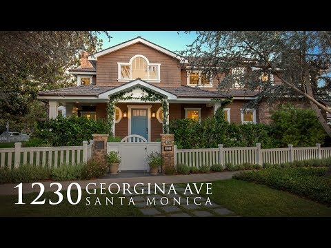 SOLD | Stunning Santa Monica Traditional | 1230 Georgina Ave