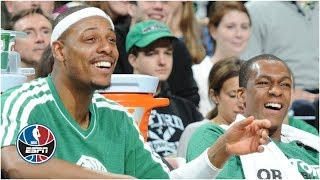 Paul Pierce reveals to Rajon Rondo his favorite Rondo plays ever | NBA Countdown