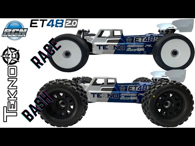 Tekno ET48 2.0 Truggy - Build Reveal - Race or Bash?? 🤔 HOBBYWING | AGFRC | GensAce