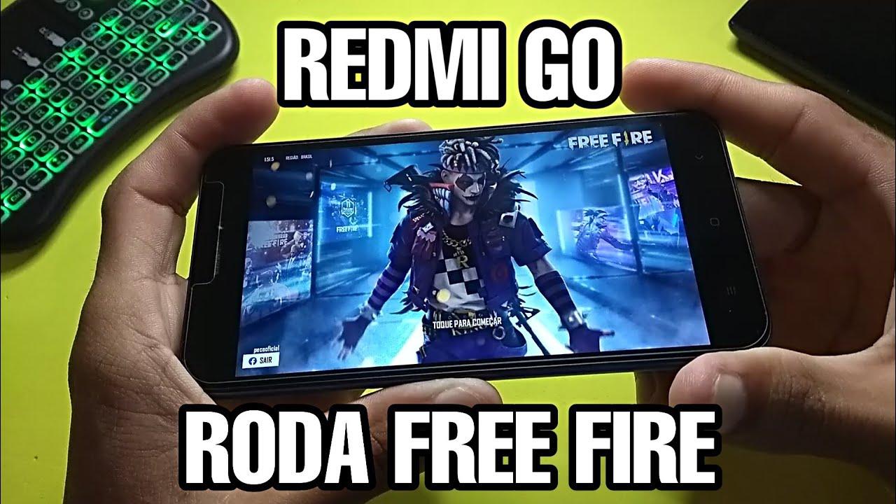 XIAOMI REDMI GO RODA FREE FIRE