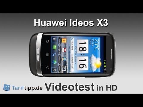 Huawei Ideos X3 | Handytest in HD (deutsch)