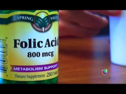 Acido folico para que sirve pastillas